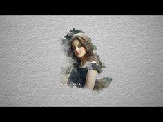 Photoshop cc Tutorial: watercolor portrait using photoshop brushes