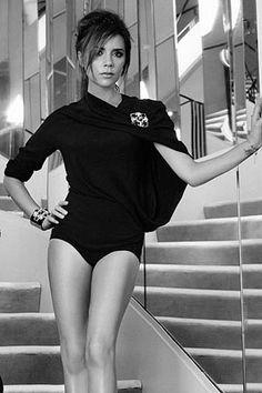Victoria Beckham Elle cover shoot