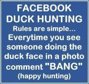 Facebook Duck Hunting