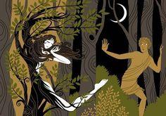 Yunan Mitolojisi: Apollon Efsaneleri: Daphne