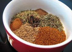 Good seasoning on chicken! Salt Free Seasoning, Seasoning Mixes, Chicken Seasoning, Santa Fe Sauce Recipe, Spice Blends, Spice Mixes, Sauce Recipes, Vegan Recipes, Salt Free Recipes