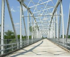 Bridge over Colorado River in Bastrop, Texas Bastrop Texas, Back In My Day, Pedestrian Bridge, Colorado River, Small Towns, To Go, Old Things, Places, Iron
