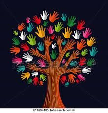 Multi social solidarity tree hands Clipart is part of Crafts for kids - Colorful diversity tree hands illustration Vector illustration layered for easy manipulation and custom coloring Kids Crafts, Preschool Crafts, Fall Crafts, Kids Diy, Hand Illustration, School Decorations, Free Illustrations, Tree Art, Oeuvre D'art