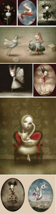 Nicoletta Ceccoli-  Love this!