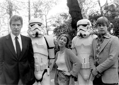 Now this is a cool #StarWars moment. Photo from the 70s?