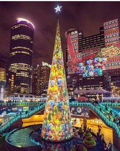 Rory nos muestra como los habitantes de Taiwán decoran sus calles de Navidad