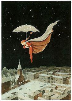 www.thewoodcuttersdaughter.com Fairy tale illustrator Rudolf Koivu
