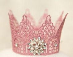 teen, adult, Newborn Photo Prop single sprinkled- Amazing PINK princess crown for newborn shoots and photographers Pretty In Pink, Pink Love, Hot Pink, Pink Princess, Little Princess, Princess Party, Princess Crowns, Princess Charlotte, Princess Birthday