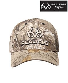 #NEW Realtree Xtra® Camo Hat with Adjustable strap on back.  Features 3-D embroidery with Realtree and Antlers logo.  One size fits most. $17.99. #realtreeXtra