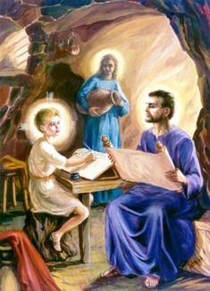 La Santa Famiglia di Nazareth: Dagli scritti della Serva di Dio ...