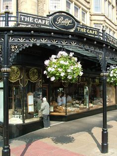 Betty's Harrogate - North Yorkshire, England I LOVE Harrogate. Bettys Harrogate, Wonderful Places, Beautiful Places, North Yorkshire, Yorkshire England, British Isles, Great Britain, Places To See, Countryside
