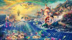 Kinkade: The Little Mermaid