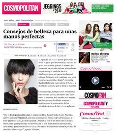 Manos perfectas con #byonik de #MaribelYebenes en @Cosmopolitan España