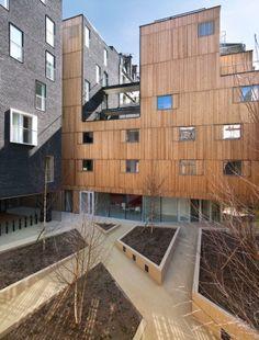 Residencial estudantil em Paris / LAN Architecture | ArchDaily Brasil
