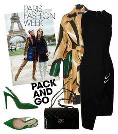 """Paris Fashion Week"" by laurabosch on Polyvore featuring Versus, Chanel, Deimille, parisfashionweek and Packandgo"
