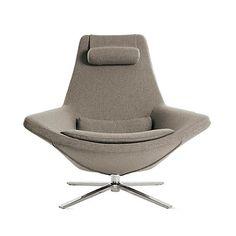 B & B Italia Metropolitan Chair, Small Armchair and Armchair by Jeffrey Bernett