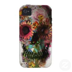 Skull 1 Case-Mate iPhone 4 covers