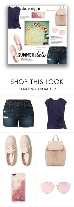 """smokin' hot : summer date"" by a-hidden-secret ❤ liked on Polyvore featuring LE3NO, Gap, Hollister Co., Mansur Gavriel and LMNT"