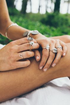 Pretty little things. Rings by Arrow Divine.