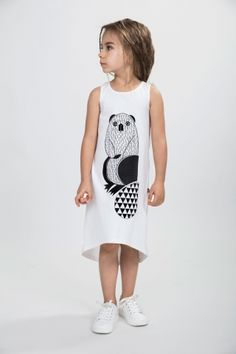 dress with beaver