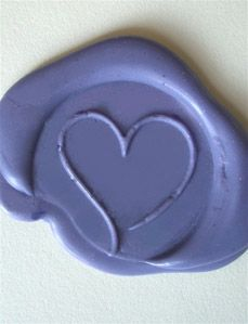 To seal invites for a periwinkle wedding! Periwinkle Glue Gun Sealing Wax 3 for $5.55 ($1.85 stick)