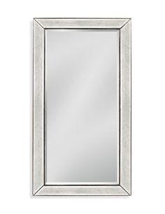 28x40 Bassett Mirror Beaded Wall Mirror & Reviews   Wayfair