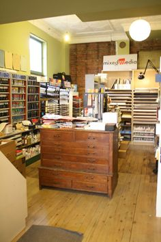 Great art supply store called Mixed Media , on James Street North