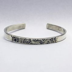 Handmade Sterling Silver Cuff Bracelet Rings of by MaryRoffDesigns