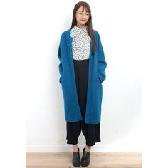 d/s by Drive Store Retro Style Oversized Boucle Woolen Coat
