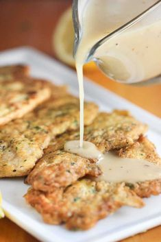 The Best Ever Chicken Francese Recipe - Kelly Molina Recipes Turkey Recipes, Meat Recipes, Chicken Recipes, Cooking Recipes, Cooking Fish, Cooking Pork, Easy Cooking, Healthy Cooking, Gastronomia