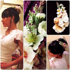 """Original bride, original everyday. """"Tokyo"""" is my new beautiful creation for my handcrafted line of wearable art: flower headpieces for brides or just for being original every day! Ask me for a customized one just for you in Instagram or at: www.facebook.com/arbolitomexart #arbolito #arbolitomexart #art #artisan #mexico #mexicanfolkart #folk #flower #hairpiece #handcrafted #handmade #create #design #fashion #ladies #bride #musicfestival #summer #boho #bohemian"""