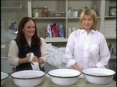 Martha Stewart and antique collector and author Debra Bonito discuss the best ways to clean vintage linens.