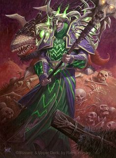 Zenith Shadowforce Acrylic, approx x World of Warcraft trading card game illustration ©Blizzard Entertainment & Upper Deck. Wow Warlock, Science Fiction, World Of Warcraft Wallpaper, Black Mage, Warcraft Art, Wow Art, Scenery Wallpaper, Dark Ages, Medieval Fantasy