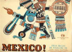 Folklore mexicain Charles Cros Ostiones Alvaradenos / Lamedia Calandria / Dalia Chinita 18 titres 33T