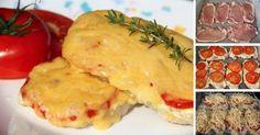 Výborné bravčové rezne so syrom, cibuľou a paradajkami. Šťavnaté a bez vyprážania! Hodí sa na sviatočný stôl alebo ako nedeľný obed. Prílohu zvoľte podľa chuti.