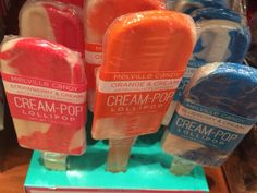 Cream pops candies!!