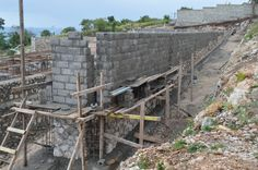 Another image of our foundation and structure being built!