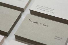 Leenden&co identity - Iain Claridge Square Business Cards, Business Cards Layout, Business Card Design, Identity Design, Logo Design, Brand Identity, Corporate Design, Web Design Mobile, Name Card Design