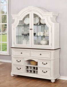 The Avalon Furniture West Chester Buffet with Optional Hutch will be an elegant feature in your kitchen or dining room. Avalon Furniture, Find Furniture, Furniture Design, Refinished Furniture, Furniture Repair, Repurposed Furniture, Painted Furniture, Adjustable Shelving, Open Shelving