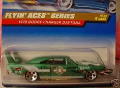 Mattel Hot Wheels 1998 1:64 Scale Flyin Aces Series Green 1970 Dodge Charger Daytona Die Cast Car 1/4 by Mattel. $1.25. Mattel Hot Wheels 1998 1:64 Scale Flyin Aces Series Green 1970 Dodge Charger Daytona Die Cast Car 1/4