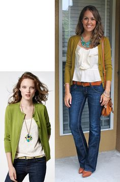 Today's Everyday Fashion: Moss Cardigan