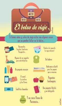 El bolso de viaje (si vas con niños), de El Blog de Sarai Llamas.
