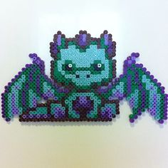 Dragon perler beads by kelsey_wall