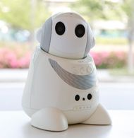 Pint-sized PaPeRo Petit robot wants to keep watch over you via @CNET