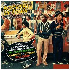 """DOMENICA 9 OTTOBRE DALLE 15.30 AL Corto Maltese Poetto. """"ROCKERS IN TOWN"""" LA DOMENICA POMERIGGIO IN LEVARE CON Isla Sound E I SUOI OSPITI SPECIALI!! STRICTLY VINYL SELECTION AND POSITIVE VIBRATIONS A' COME!! Big Tune, Rare Groove and Classic Tune! PERCHE' SE IL FREDDO STA ARRIVANDO IN CITTA' A RISCALDARVI CI PENSIAMO NOI!"""