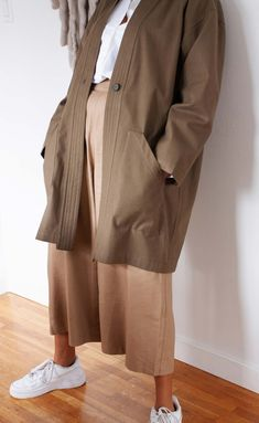 The Fellow - Long Sleeve Duster Coat   Power Of My People Minimal Outfit, Minimalist Fashion, Her Style, What To Wear, Duster Coat, Sew, Normcore, Long Sleeve, People