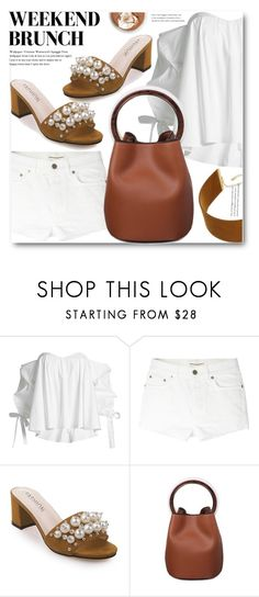 """""""Combo"""" by shadow-12 ❤ liked on Polyvore featuring Caroline Constas, Yves Saint Laurent and Thalia Sodi"""