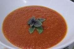 Sopa de tomate by Segredos da Tia Emília. .:: Segredos da Tia Emília ::..