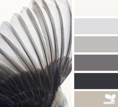 winged tones - design seeds love the color scheme Hue Color, Colour Pallette, Colour Schemes, Color Combos, Colours, Taupe Colour, Neutral Colors, Design Seeds, Coordination Des Couleurs