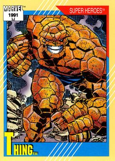 The Thing 1991 Marvel Universe Trading Card Series II